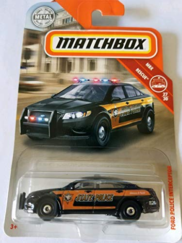 - Matchbox 2018 MBX Rescue 27/30 - Ford Police Interceptor