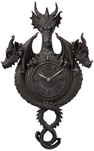 (Design Toscano Past, Present, Future Sculptural Dragon Wall)