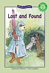 Lost and found childrens book