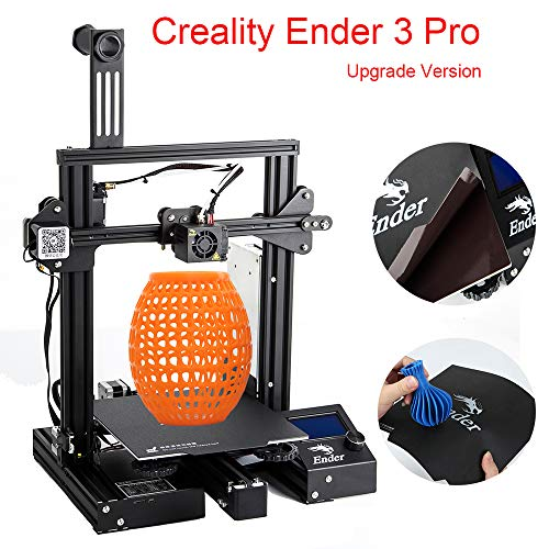 Creality Ender 3 Pro DIY 3D Printer with Removable Magnetic Bed and UL Certified Power Supply 8.6
