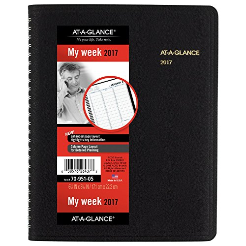 GLANCE Weekly Appointment Planner 70 951 05
