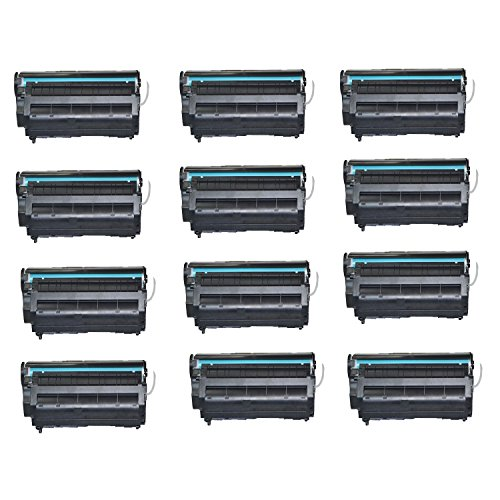Remanufactured Toner Cartridge Replacement for HP 12A (Q2612A) (Black) - 12 (Remanufactured Black Drum Cartridge)
