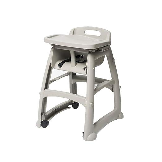 ZFF-cy Trona para niños portátil, Mesa de Comedor Multifuncional y ...