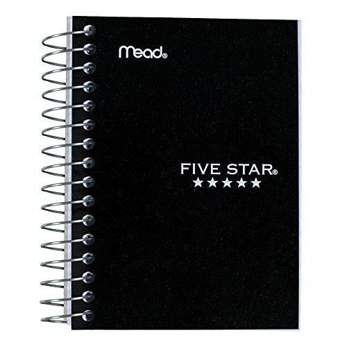 (Five Star Fat Lil' Wirebound Notebook 200-Count (45388), Colors May Vary)