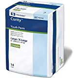 Curity Youth Pants Youth Pull-On Diapers Size Large/X-Large Pk/14