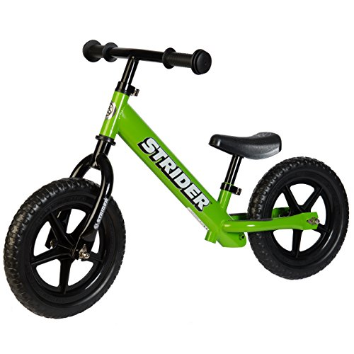 Strider Classic No-Pedal Balance Bike Green