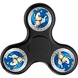 Toye-Bean Custom Sonic The Hedgehog Cool Fidget Spinner Hand Toys Triangle Fingertips Finger Tip Tri-Spinner