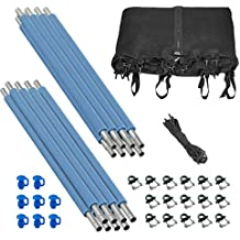 Upper Bounce Trampoline Replacement Enclosure Set - Set Includes: Net, Poles & Hardware Only