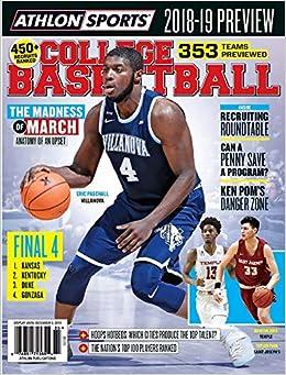 ab187ff5e42 Amazon.com  Athlon Sports 2018-2019 College Basketball Preview Villanova  Cover  Athlon Sports  Books