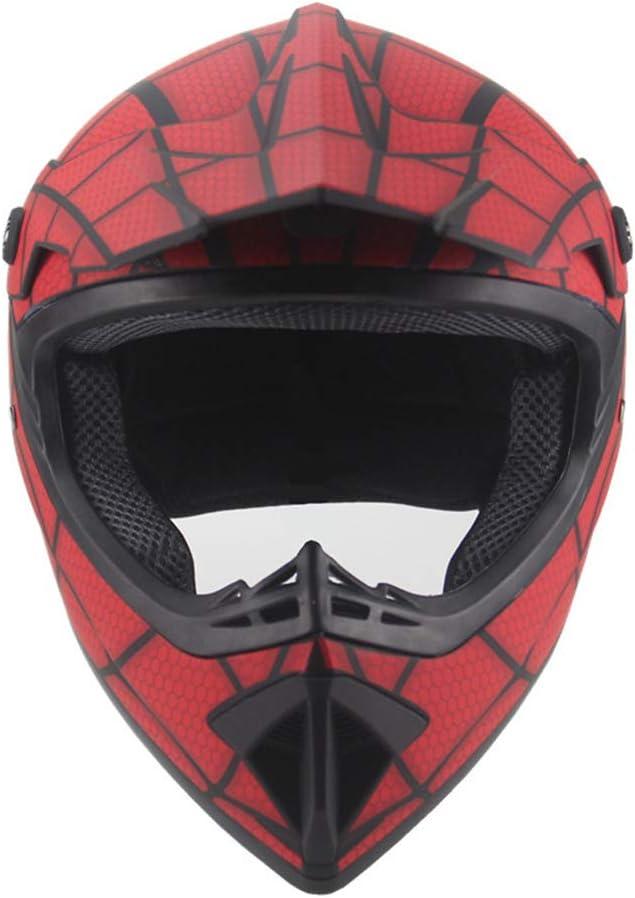 avec Gants Lunettes Masque Casque Moto Enfant ECE Casque Moto Cross HARUONEDAY Casque Moto Casque De Moto Cross Adulte Casque VTT ATV Scooter ATV Casque