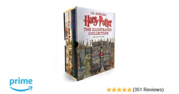 Harry Potter: The Illustrated Collection (Books 1-3 Boxed