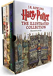 Harry Potter - the Illustrated Collection Books 1 -3 Boxed Set