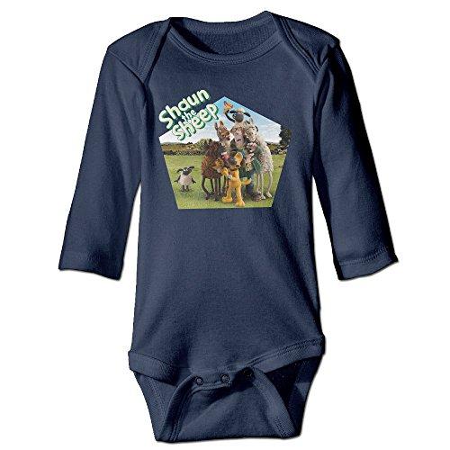 Yudou Shaun The Sheep Baby Bodysuits Unisex Long (Deadpool Morph Suit)