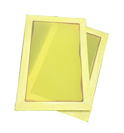 ccbbbaf3 Image Unavailable. Image not available for. Color: 2 Pack Silk Screen  Printing Screens ...