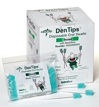 Dentifrice traité Oral–Tampons jetables Dentips–Qualité supérieure Dentips®