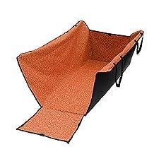 vismile Car Pet Dog Seat Cover Hammock Waterproof Barrier Slip Flaps Nonslip