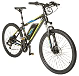 Cheap Vilano Electric MTB Commuter Bike, 21 Speeds, Disc Brakes, 27.5 650b Wheels