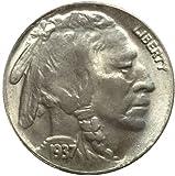 1937-D 3-LEGGED BUFFALO NICKEL COIN COPY