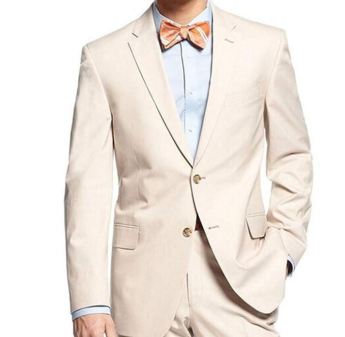 Amazon.com: Traje de esmoquin para hombre Slim Fit color ...