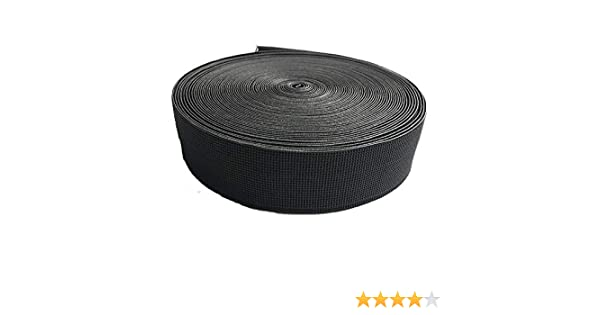 Cincha de tapicería elástica,12 metros calidad extra de caucho, ancho de 80 mm.