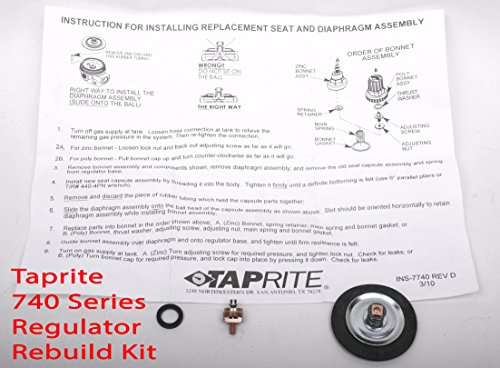Taprite Regulator Rebuild Beer Kegconnection product image