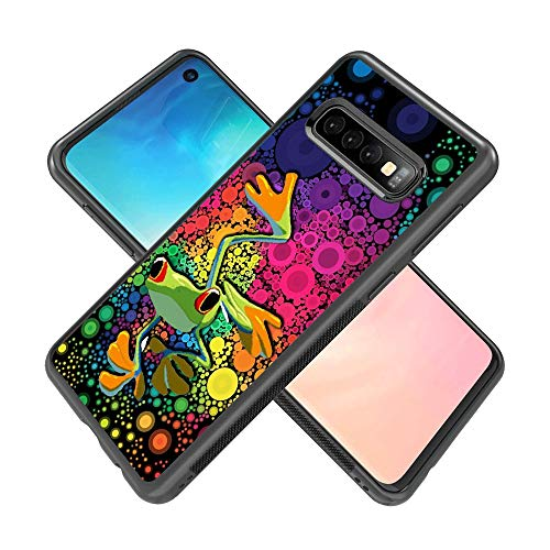 Samsung Galaxy S10 case Frog Bubble Full Body Case Cover Screen Protector Heavy Duty Protection case Shockproof case for Samsung Galaxy S10