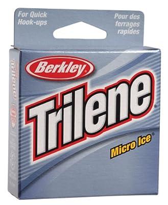 Berkley Trilene Micro Ice Fishing Line 110 Yd Spool by Berkley