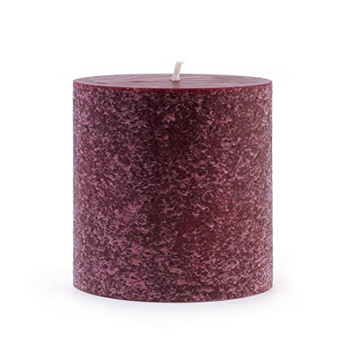 Root 3x 3 Scented Timberline Pillar Candle, Cranberry