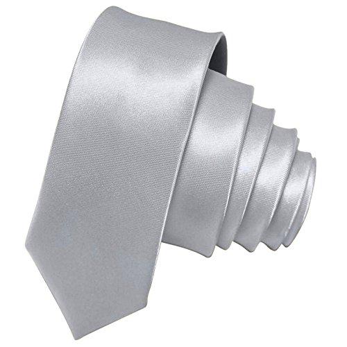 GASSANI Silver Gray Skinny Slim 2