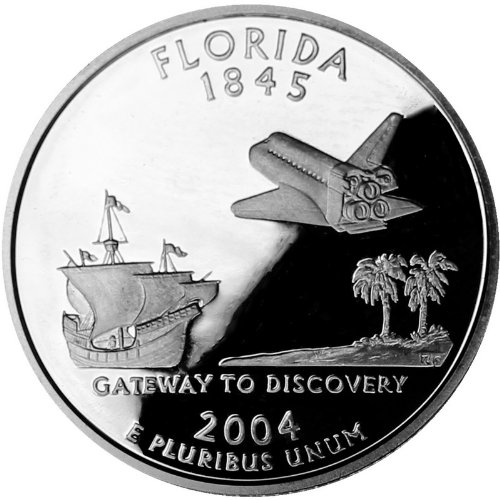 2004-S Silver Proof Florida State ()