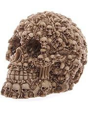 Puckator SK144 dekorationsobjekt av skalle