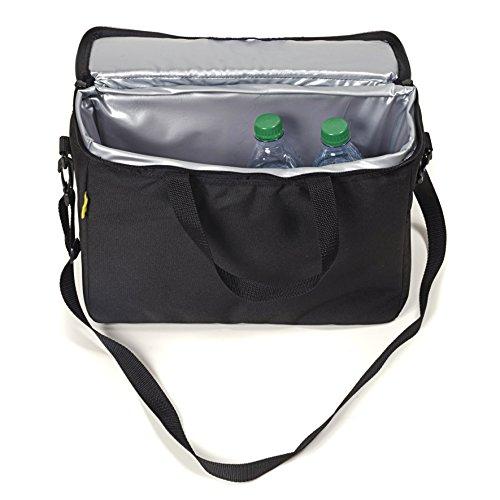 Saddlebag Cooler - Dowco Willie & Max 04742 Grab & Go Saddlebag Cooler Insert: Black, Universal Fit, 12 Liter Capacity