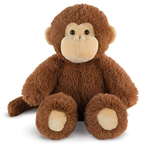 Vermont Teddy Bear - Amazon Exclusive Oh So Soft Monkey Stuffed Animals and Teddy Bears, Brown, 18