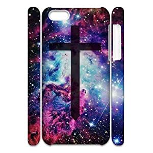 LJF phone case Cross DIY 3D Cover Case for ipod touch 5,personalized phone case ygtg549902