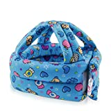 IUME Baby Toddler Baby Safety Helmet Children Headguard Infant Protective Harnesses Cap Adjustable Printed Head Guard Head Protector Cute Candy