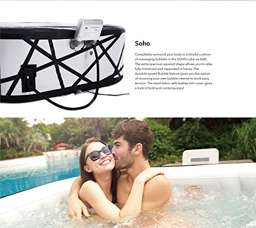 MSPA Premium Soho 132 Jet Relaxation and Hydrotherapy Hot Tub M-029S