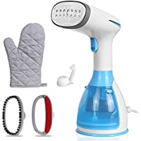 Handheld Garment Steamer 280ml, Portable Fast Heat-up Fabric Wrinkles Steamer for Travel and Home