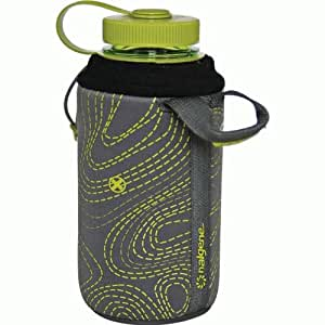 insulated neoprene nalgene bottle sleeve camping water storage sports outdoors. Black Bedroom Furniture Sets. Home Design Ideas