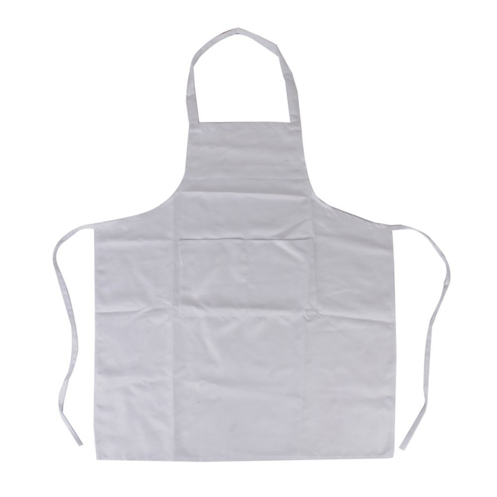 White disposable apron - Amazon Com Disposable White Poly Aprons 28 Inch X 46 Inch 1 0 Mil 100 Kitchen Dining
