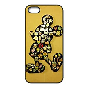 Disney Mickey Mouse Minnie Mouse iPhone 4 4s Cell Phone Case Black 218y-748721