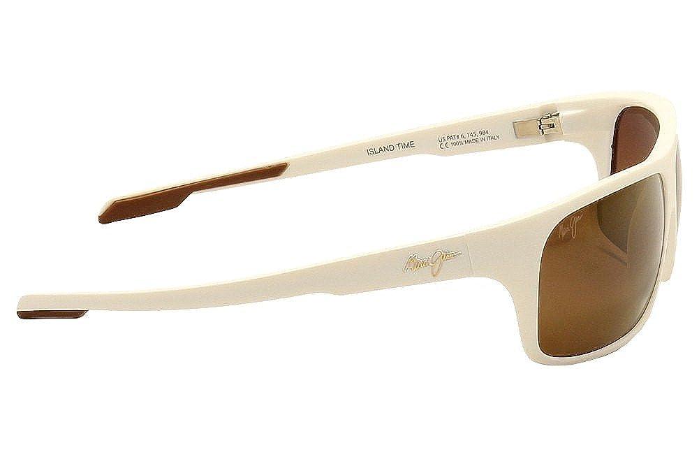 a2075c5396d Maui Jim H237-05M Matte White Island Time Wrap Sunglasses Polarised  Sailing