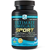 Nordic Naturals – Ultimate Omega-D3 Sport, Supports Healthy Bones and Immunity, 60 Soft Gels