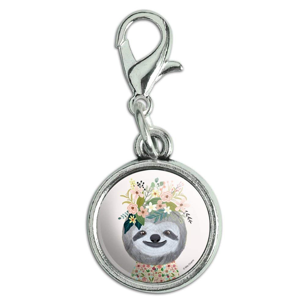 Antiqued Oval Charm Clothes Purse Luggage Backpack Zipper Pull Red Panda Cute