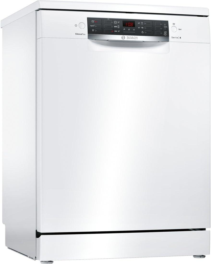 Bosch Serie 4 SMS46IW08E lavavajilla Independiente 13 cubiertos A ...
