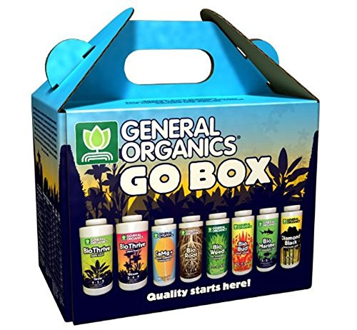 General Hydroponics GH5100 General Organics Go Box (General Hydroponics Nutrients)