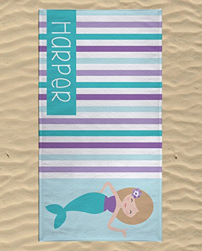 Personalised Beach Towel Pegs: Personalized Kids Gifts