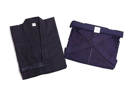 Uniforme de algodón de artes marciales tradicionales japonesas y Kendo ZooBoo para hombre.Chaquetas para