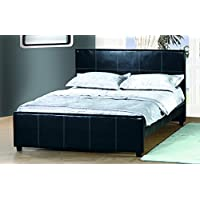 Milton Greens Stars Full Madison Platform Bed, black
