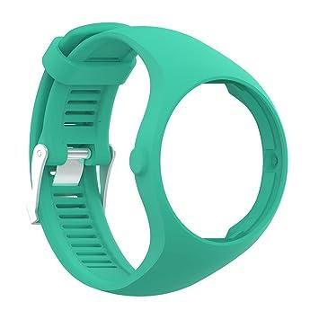 domybest repuesto reloj correas de reloj cinturón para Polar M200 reloj inteligente con hebilla: Amazon.es: Electrónica
