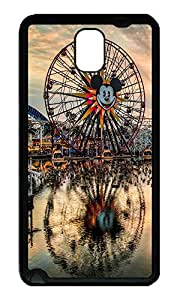 Note 3 Case, Galaxy Note 3 Case, [Perfect Fit] Soft TPU Crystal Clear [Scratch Resistant] California Adventure Cute Back Case Cover for Samsung Galaxy Note 3 N9000 Cases